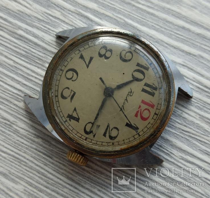 Часы. Ракета / 12 красная - на ходу, фото №4