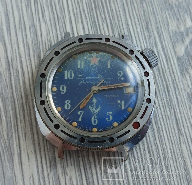 Часы. Командирские / Подводная лодка - на ходу, фото №3