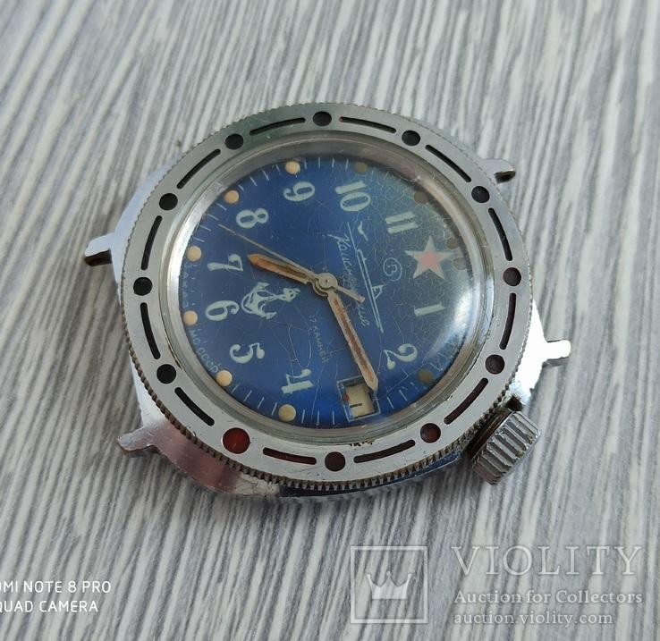 Часы. Командирские / Подводная лодка - на ходу, фото №4