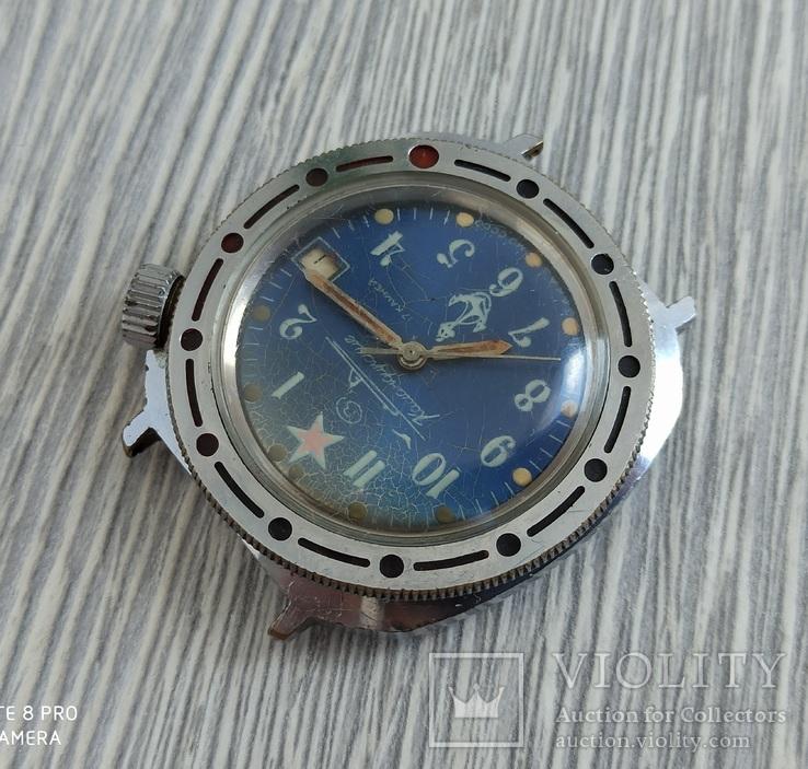 Часы. Командирские / Подводная лодка - на ходу, фото №6