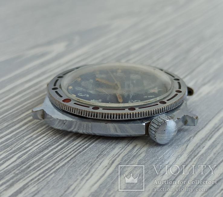 Часы. Командирские / Подводная лодка - на ходу, фото №7