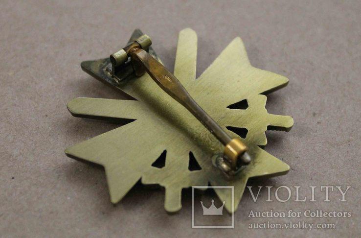 Рыцарский крест КВК 1-го класса смечами. Клеймо 1 (копия), фото №7