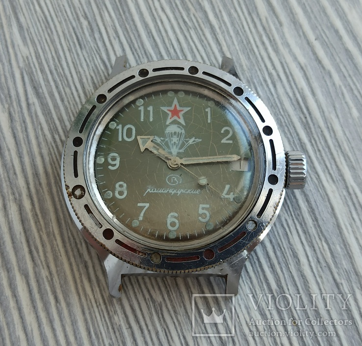 Часы. Амфибия / Автоподзавод - на ходу, фото №3