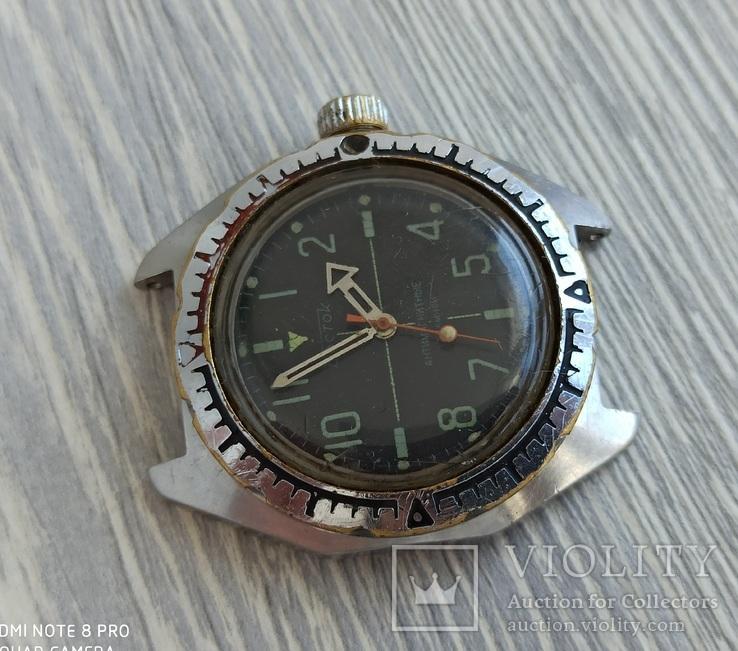 Часы. Восток / Амфибия / светомаса - на ходу, фото №5
