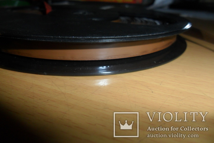 Бобина бабина катушка Agfa диаметр 12,5 см пленка магнитная лента, фото №8