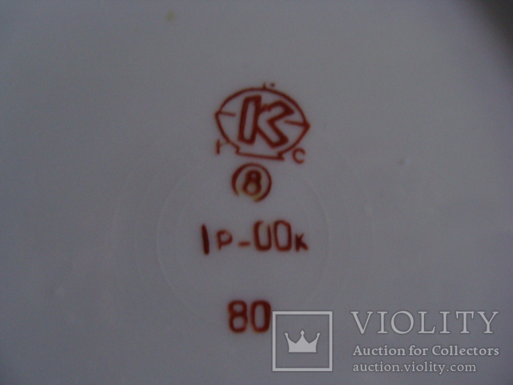 6 тарелок Коростенского завода, фото №5