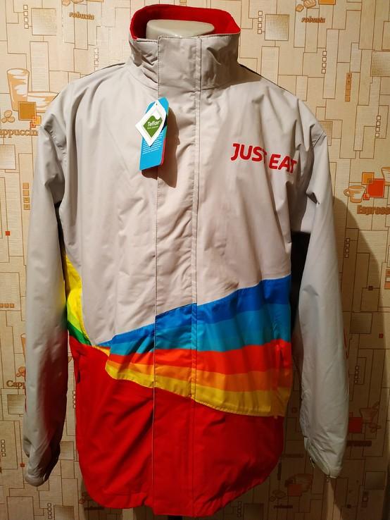Куртка. Ветровка JUST EAR нейлон водонепроницаемость 10000 мм p-p L(новая)