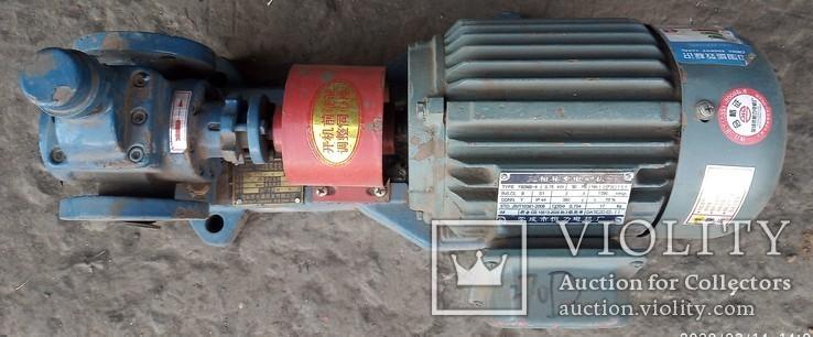 Двигатель с насосом, фото №2