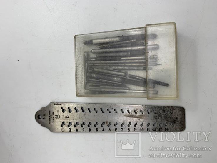 Винторезная доска и метчики., фото №2