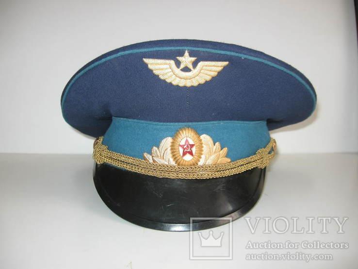 Фуражка парадная ВВС, фото №2