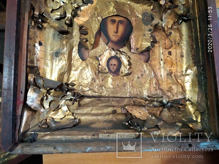 Икона Знамение 2, фото №5