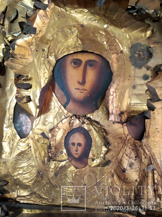 Икона Знамение 2, фото №6