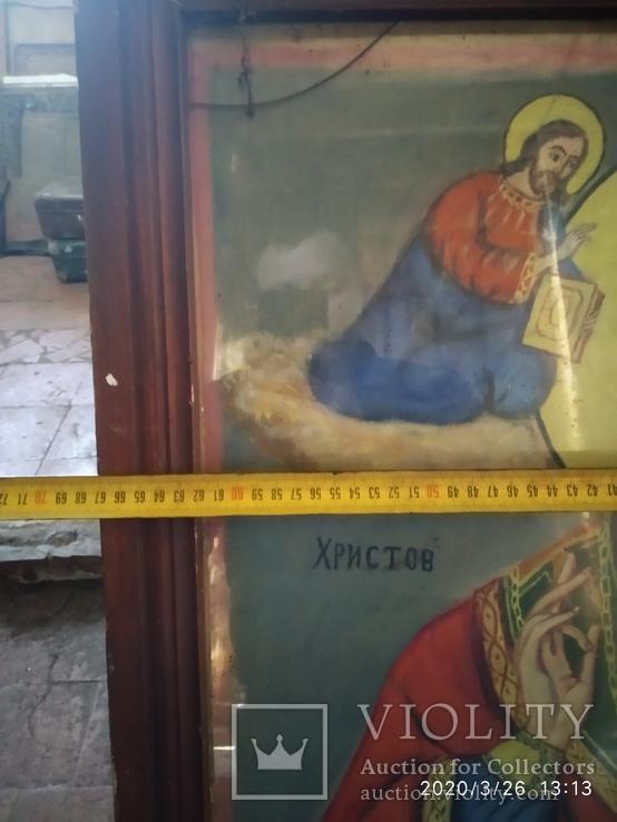 Большая икона Николай Чудотворец 2, фото №8
