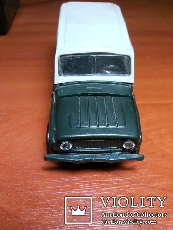 Модель пластмасова УАЗ 469 м. Виготовлена в СРСР. Продається без коробки., фото №5