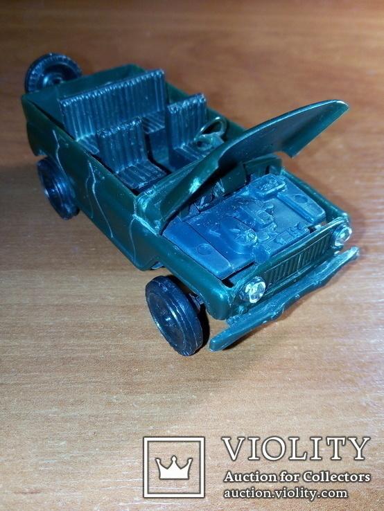 Модель пластмасова УАЗ 469 м. Виготовлена в СРСР. Продається без коробки., фото №6