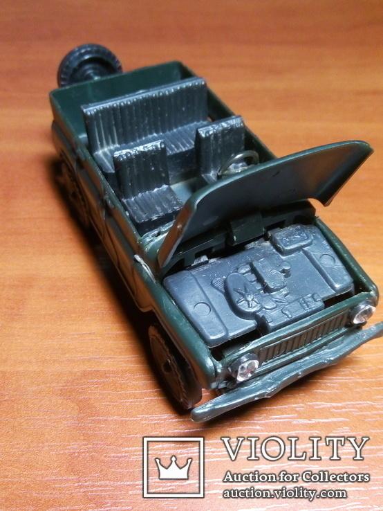Модель пластмасова УАЗ 469 м. Виготовлена в СРСР. Продається без коробки., фото №11