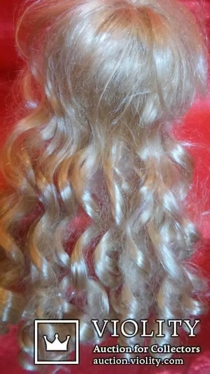 фарфоровая голова, от куклы с париком., фото №10