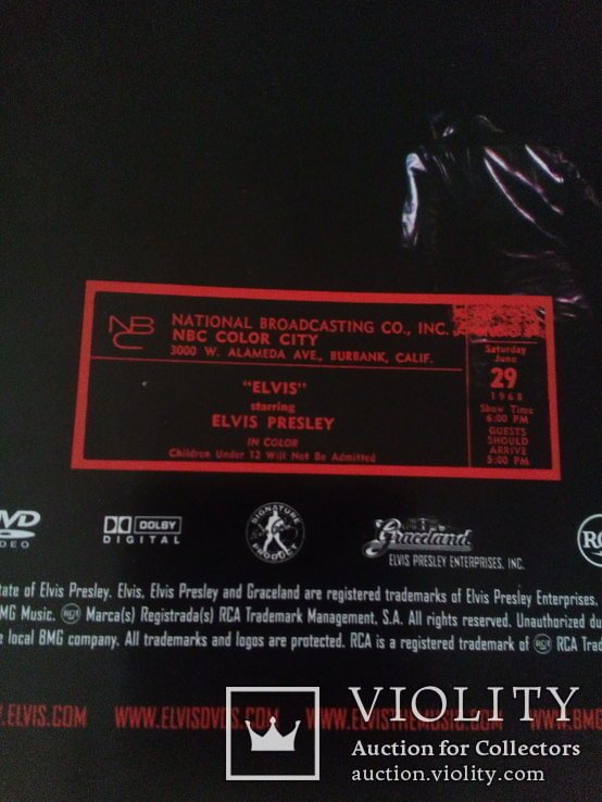 Альбом  ELVIS DVD-3 диска, буклет., фото №8