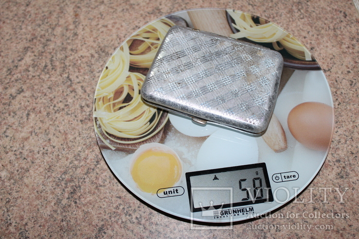 Потсигар СССР, вага 58 грм., фото №2