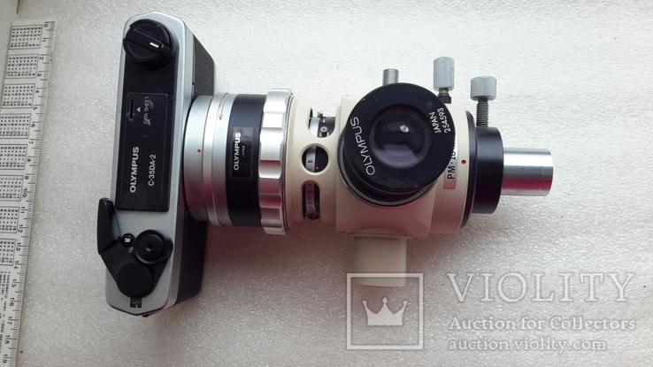 Микроскоп-камера Оlympus c-35da-2 с большим количеством окуляров, фото №2