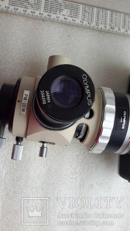 Микроскоп-камера Оlympus c-35da-2 с большим количеством окуляров, фото №6