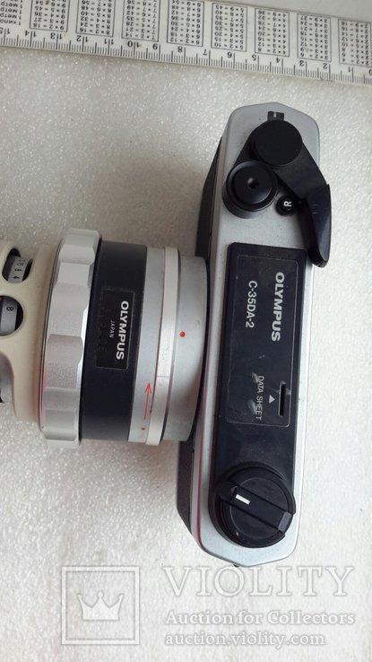 Микроскоп-камера Оlympus c-35da-2 с большим количеством окуляров, фото №9