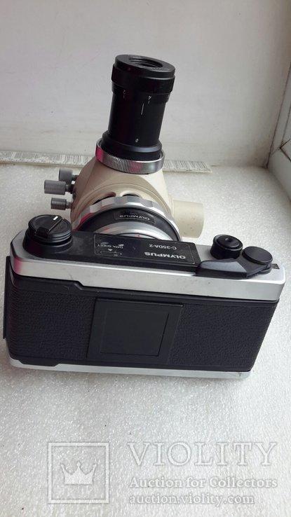 Микроскоп-камера Оlympus c-35da-2 с большим количеством окуляров, фото №11