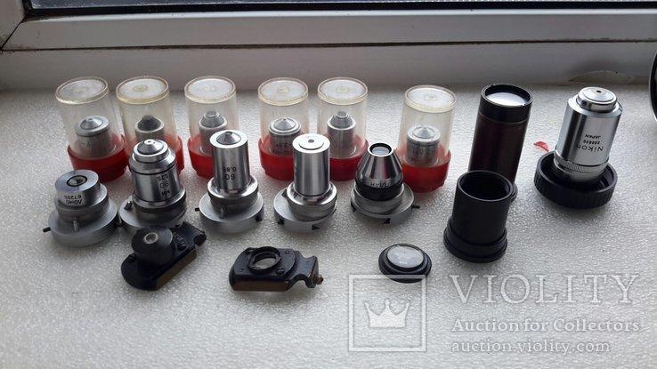 Микроскоп-камера Оlympus c-35da-2 с большим количеством окуляров, фото №12