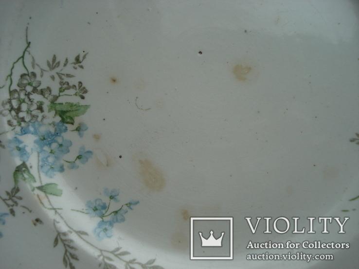 Тарелка десертная. Песоченская ф-ка Брянской губ., фото №6
