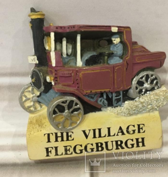 Магнит Англия the village fleggburgh Флеггбург старое авто