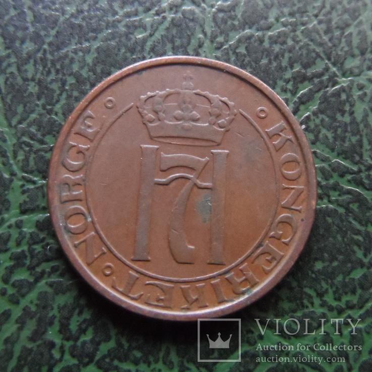 2  эре  1951  Норвегия   (6.2.20)~, фото №3