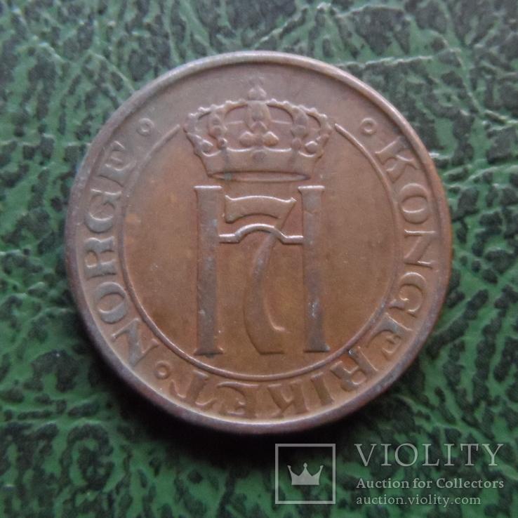 2  эре  1947  Норвегия   (6.2.35), фото №3