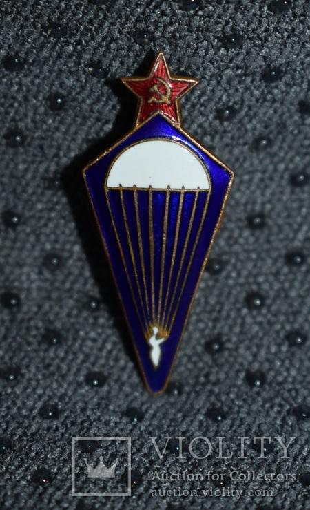 Знак парашютист образца 1936 года 2-й тип