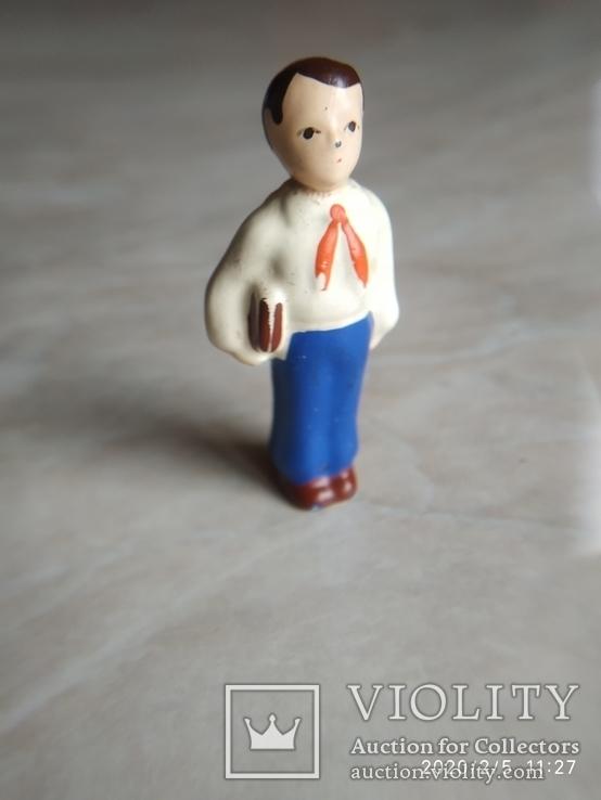 Фигурка Пионер с книгою СССР, фото №7