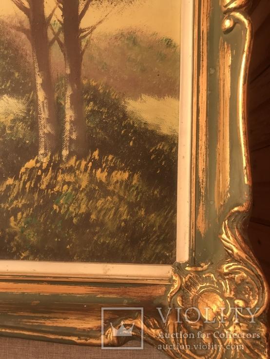 Подписная картина маслом, фото №6