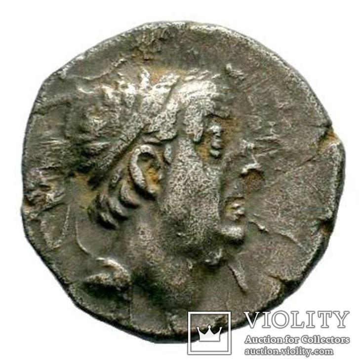 Каппадокія. Аріобарзан I Філоромей (95-62 рр. до н. е.). срібна драхма