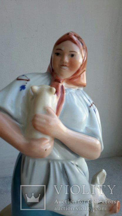 Статуэтка Свинарка, фото №3