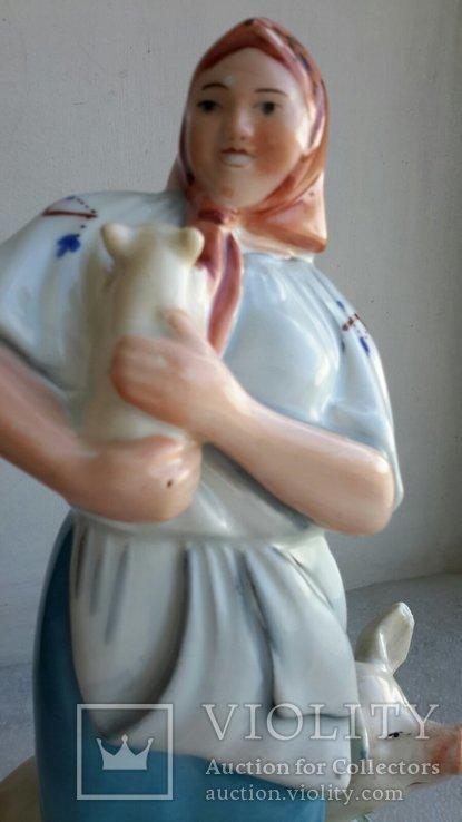 Статуэтка Свинарка, фото №7