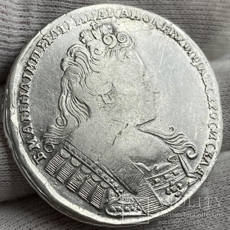 Рубль 1732 Анна Иоанновна