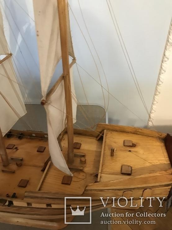 Трехмачтовый парусник, корабль, фото №5