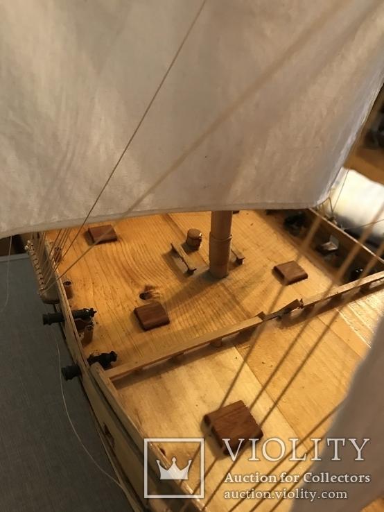 Трехмачтовый парусник, корабль, фото №9