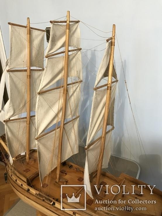 Трехмачтовый парусник, корабль, фото №12