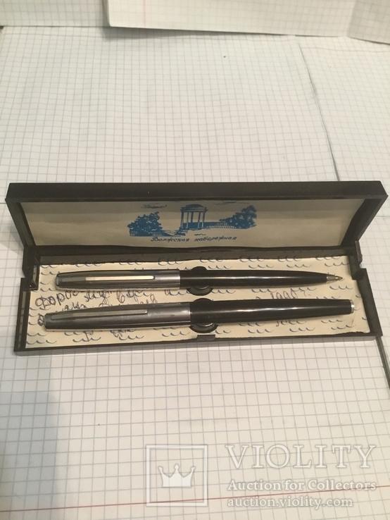 Ручка чорнильна і шарікова., фото №2