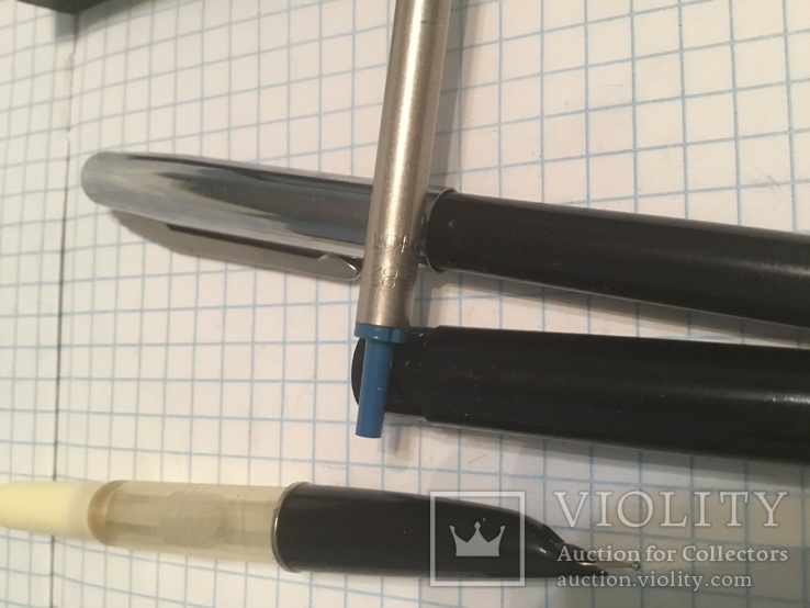 Ручка чорнильна і шарікова., фото №10