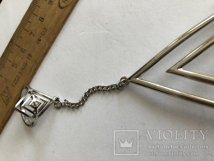 Слейв браслет с кольцом на цепочке, фото №8