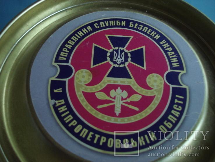 Круглая банка от Новогоднего подарочного набора., фото №6