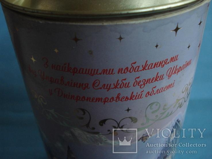 Круглая банка от Новогоднего подарочного набора., фото №7