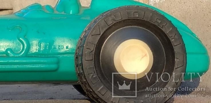 Гоночная машинка СССР(дутый пласмасс), фото №10