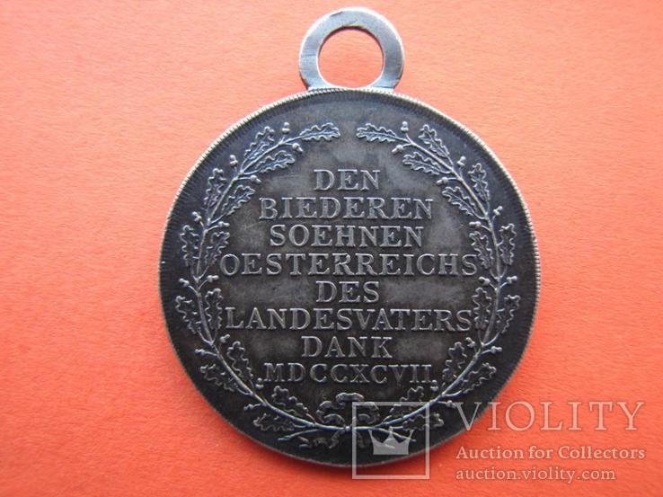 Медаль Обороны Тироля 1797, Австрия, фото №7