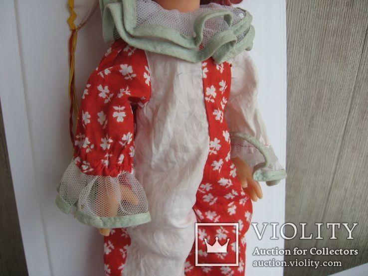 Кукла паричковая Клоун фабрики 8 Марта, СССР., фото №4